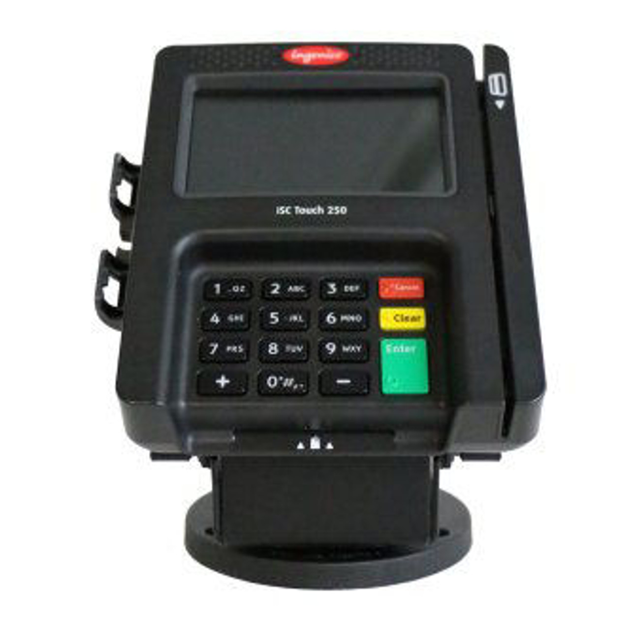 Ingenico iSC250 Credit Card Stand Low Profile EMV Clearance by Swivel Stands