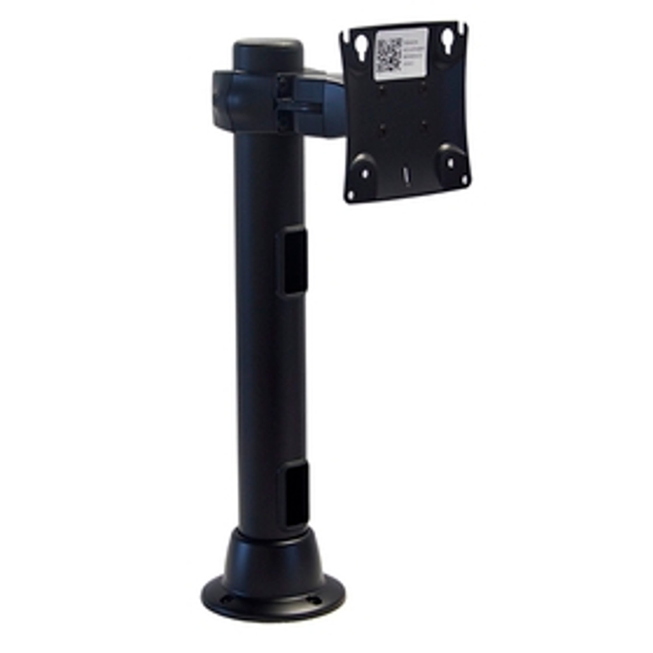 POS Preconfigured Monitor Mount Double Pivot Grommet 16 inch Pole