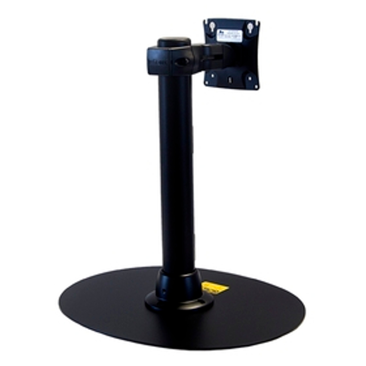 POS Preconfigured Monitor Mount Double Pivot With Desk Clamp 16 inch Pole