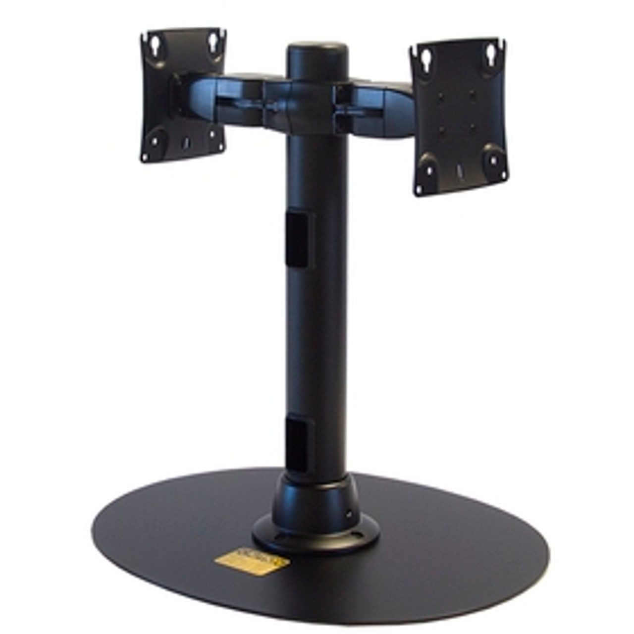 POS Freestanding Back To Back Monitor Mount 16 inch Pole
