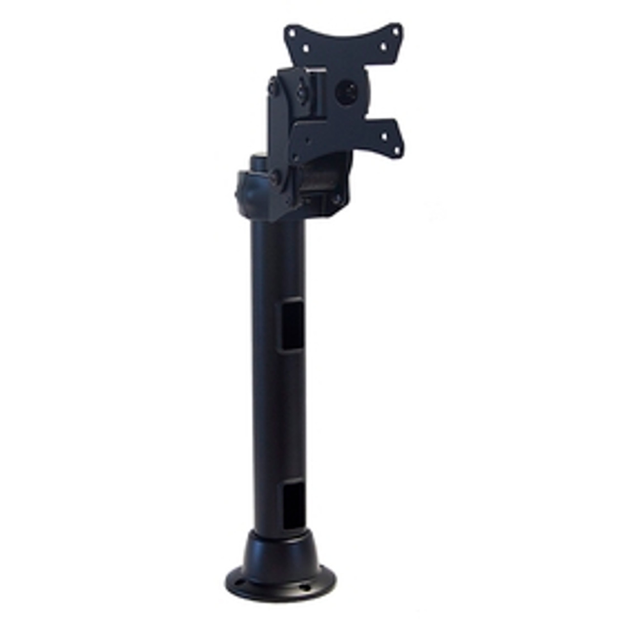 POS Articulating Arm Monitor Mount With 16 inch Pole