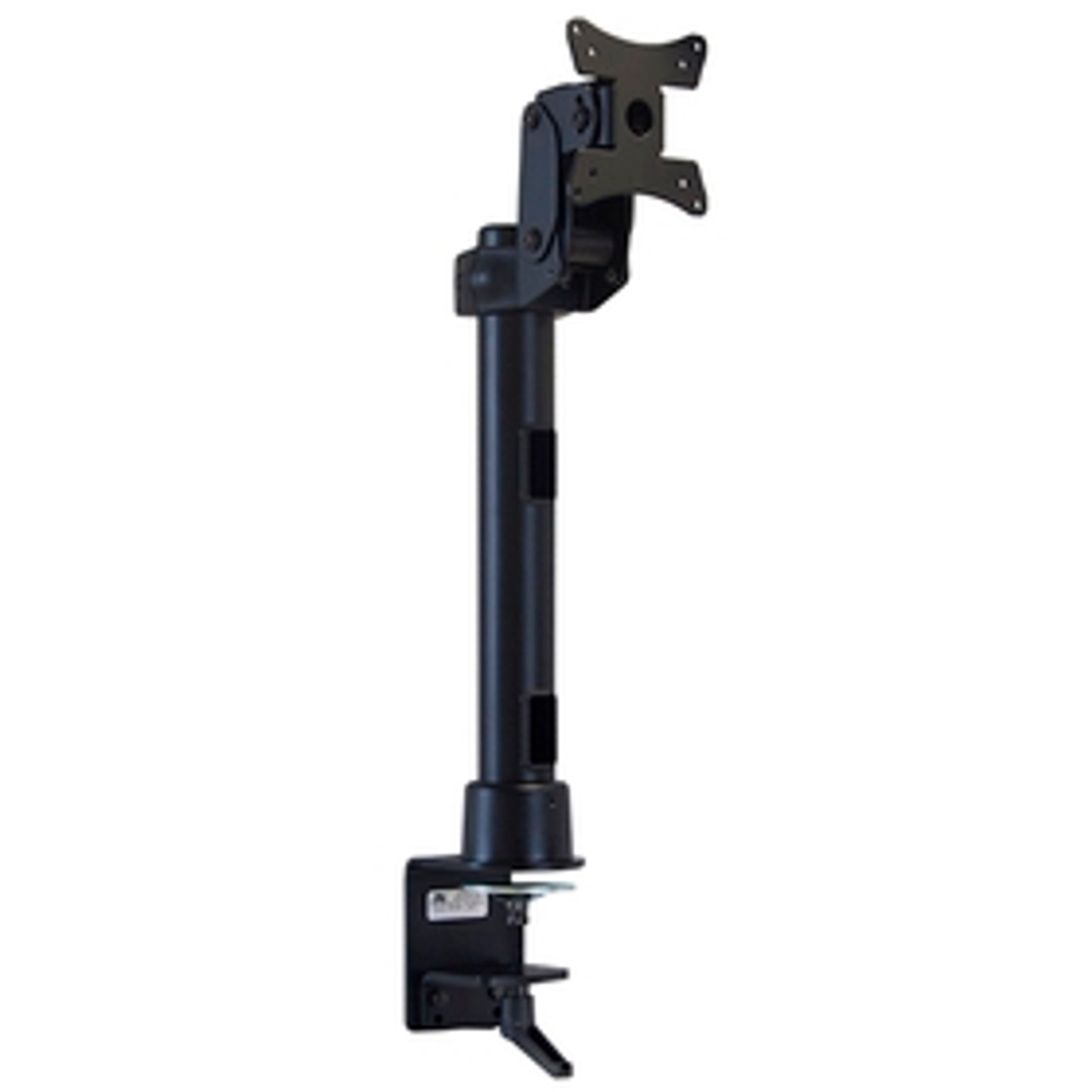 POS Monitor Mount With Desk Clamp 16 inch Pole