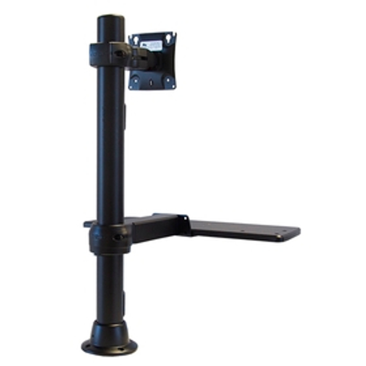 POS Monitor Mount With Keyboard Tray 24 inches