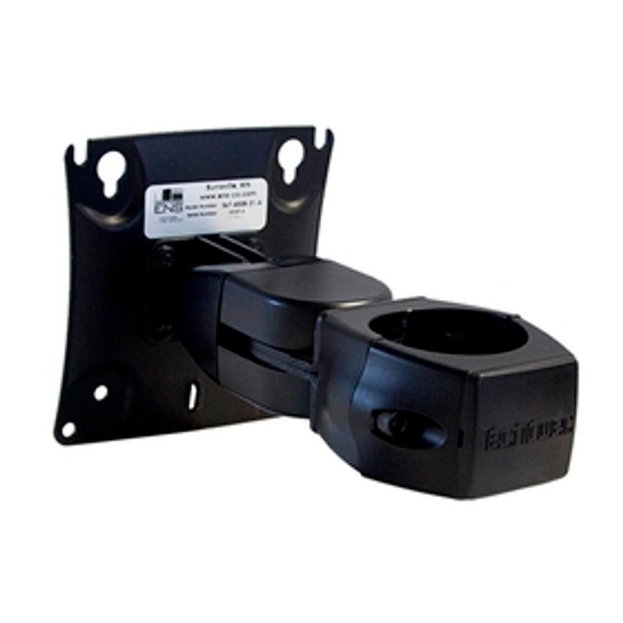 POS Double Pivot Flat Panel Monitor Mount Fixed Pole Clamp