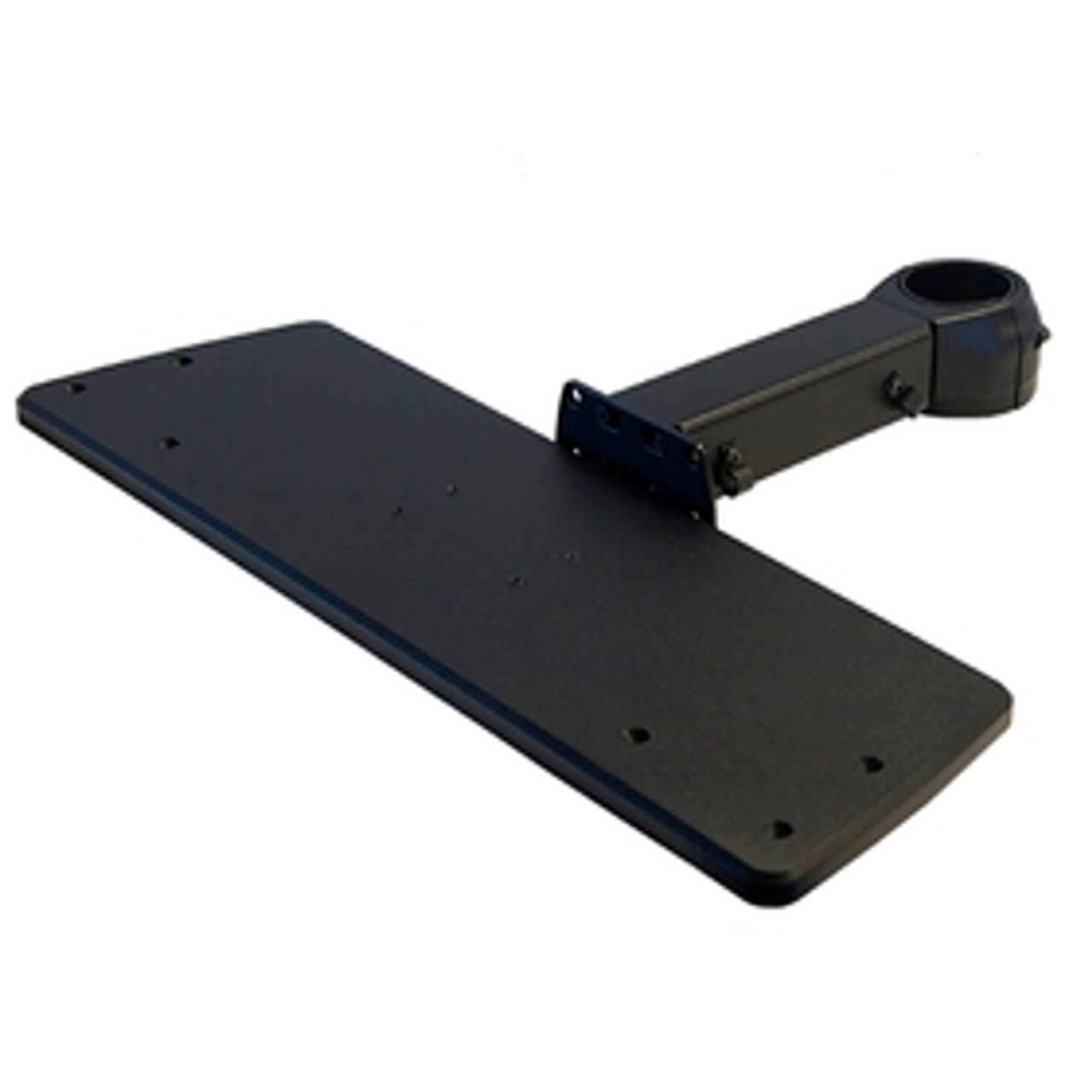 POS Keyboard Tray Fixed Length Arm Rotating Clamp