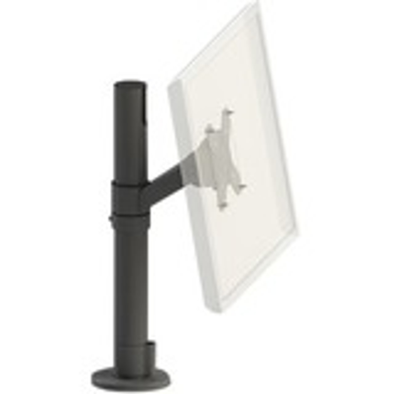 SpacePole Angled 75/100 VESA Display Mount on 400MM (15.75 Inch) Steel Pole