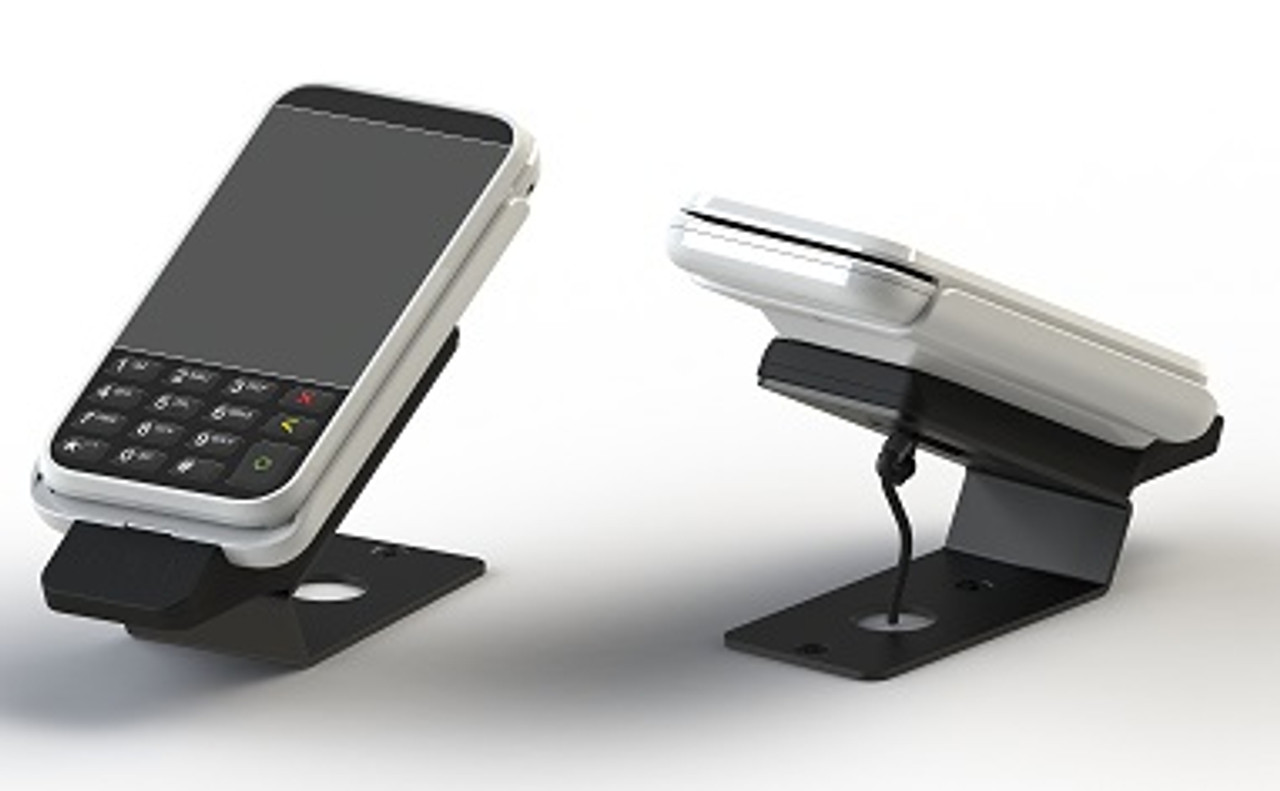 VeriFone e285 Wedge Credit Card Stand by ENS
