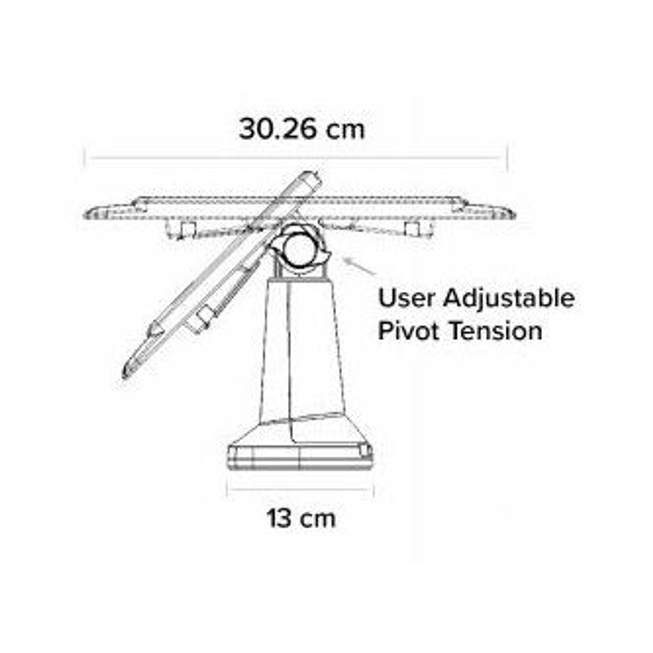PAX S80 Tailwind FlexiPole Plus Stand