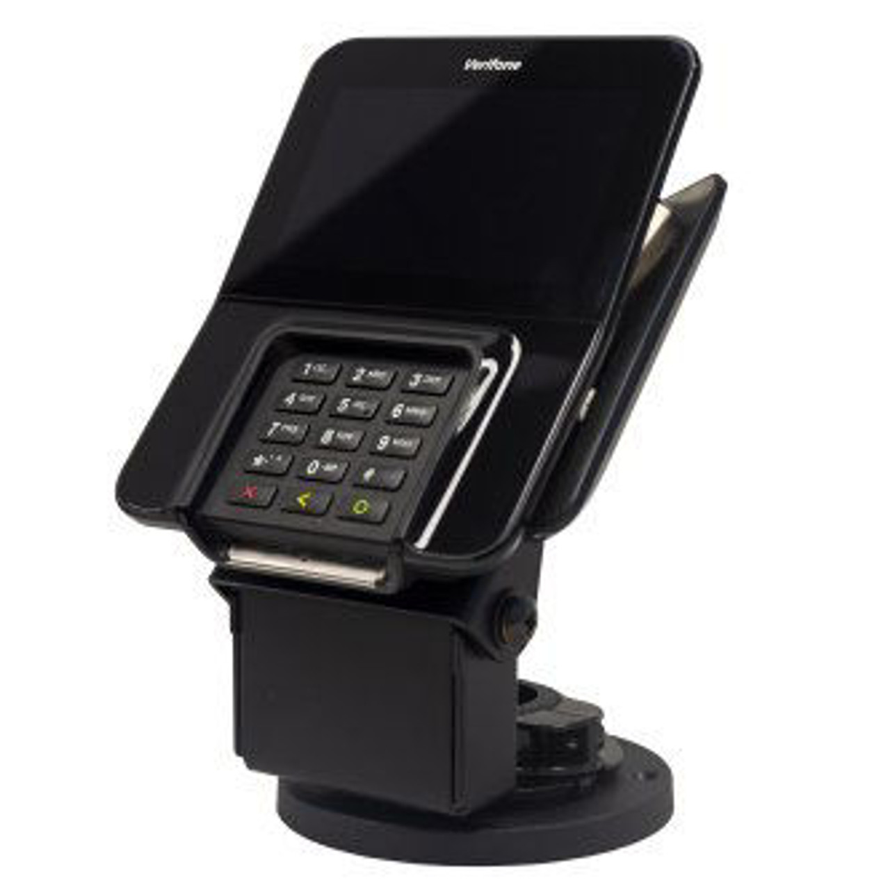 VeriFone M400 Credit Card Stand Low Contour by Swivel Stands