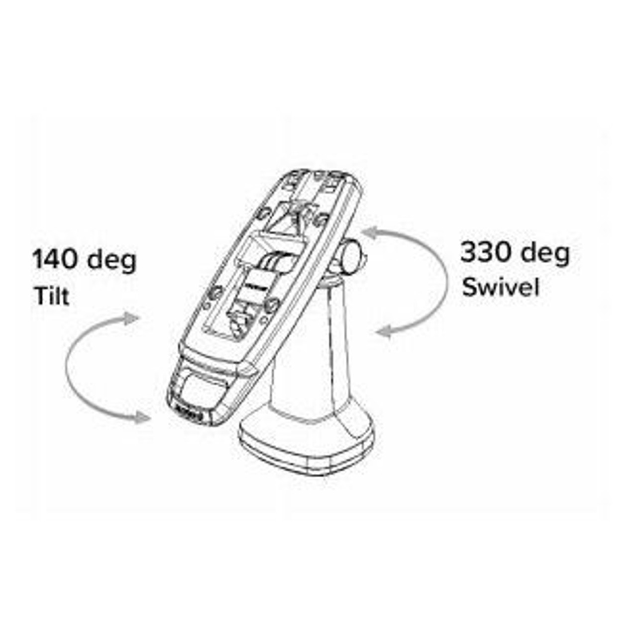 PAX S300 Tailwind FlexiPole Plus Locking Stand