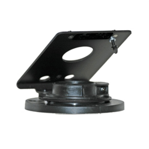 Hypercom L4200 Credit Card Stand Fixed Angle Open Hole by Swivel Stands