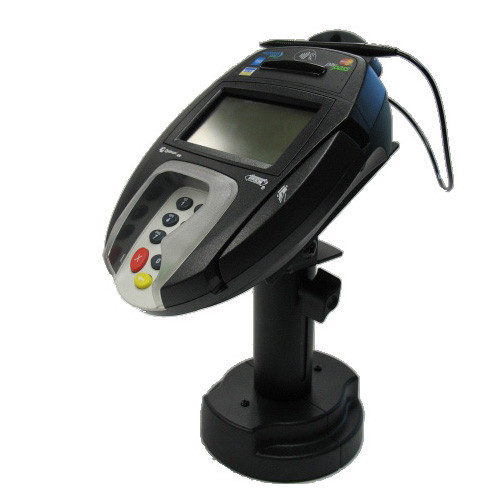 Ingenico i6580 12 Credit Card Stand Telescoping Pedestal Quick Release by Swivel Stands