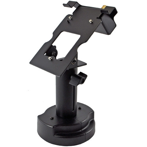 Verifone MX830 Credit Card Stand Locking Telescoping Pedestal by Swivel Stands