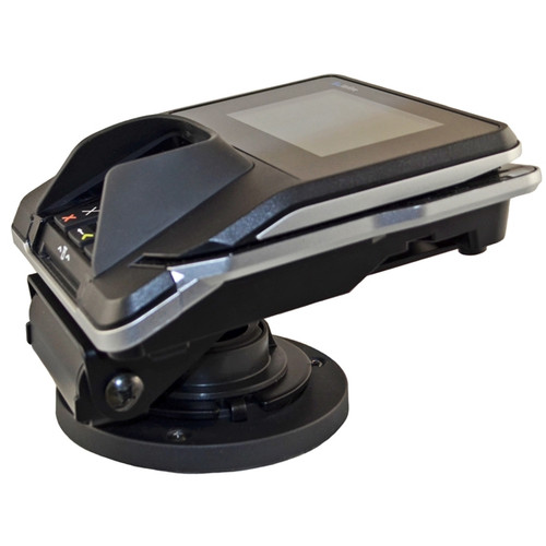 VeriFone MX925 Credit Card Stand Open Hole Flip Up by Swivel Stands