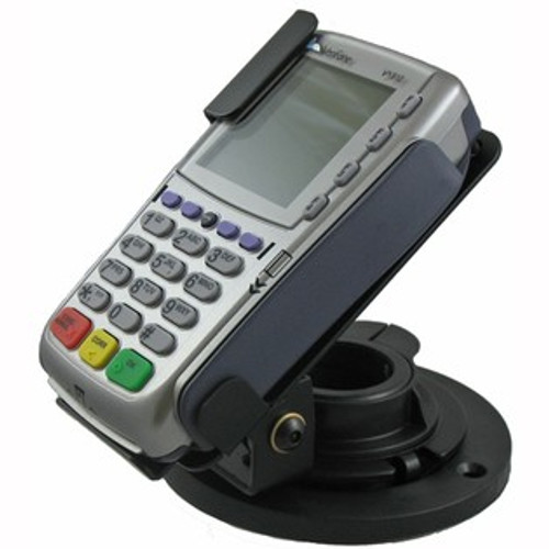 VeriFone VX810 Credit Card Stand Low Profile by Swivel Stands