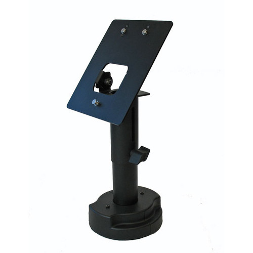 VeriFone Omni 7000 Credit Card Stand Telescoping Pedestal by Swivel Stands