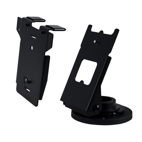 VeriFone MX925 Credit Card Stand Quick Release by Swivel Stands