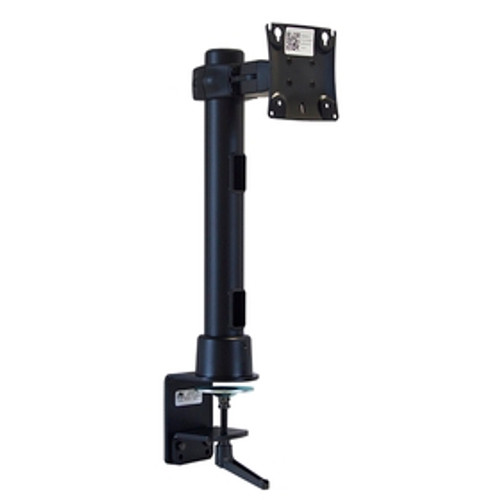 POS Preconfigured Monitor Mount With Desk Clamp 16 inch Pole