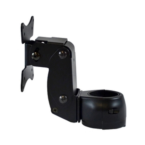POS Articulating Arm Single Pivot Flat Panel Monitor Mount Rotating Clamp