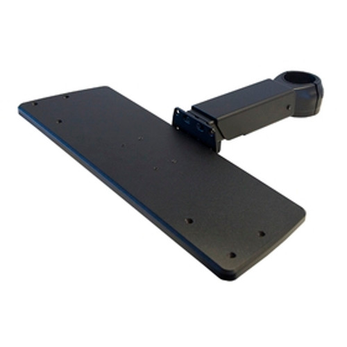 POS Keyboard Tray Arm Telescoping Length Rotating Clamp