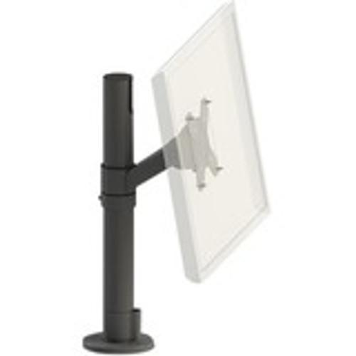 SpacePole Angled 75/100 VESA Display Mount on 400MM (15.75 Inch) Steel Pole