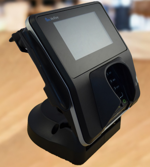 VeriFone MX915/MX925 Credit Card Stand Quick Release by ENS