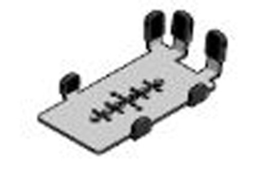 Verifone P200/P400 MultiGrip Backplate by SpacePole