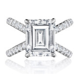 Spotlight On... Emerald Cut Engagement Rings