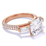 Spotlight On... Rose Gold Engagement Rings
