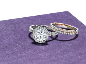 custom luxury engagement rings