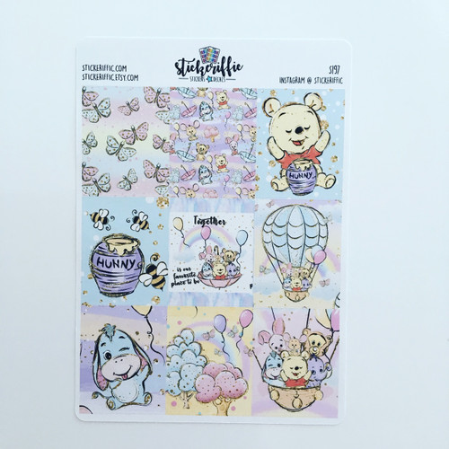 Pooh & Friends Collection Full Box Stickers - S197