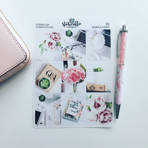 Radiant Blush Collection Full Box Stickers - S568