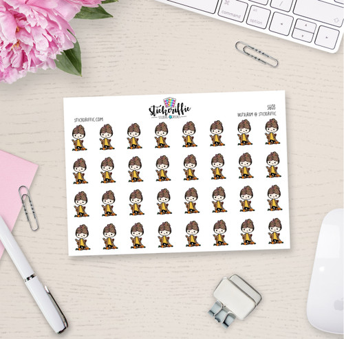 Fall Stella Stickers - S603