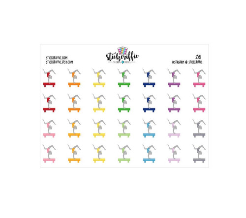 Gymnastics Stickers - S531