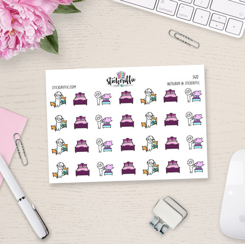 Change Sheets - Lucy Planner Stickers - S410
