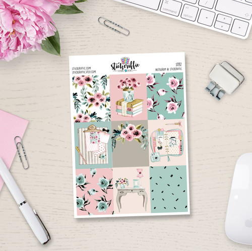 Planner Love Collection Full Box Stickers - S092