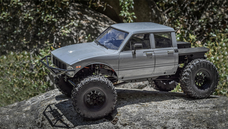 Action Side View C2X Class 2 Competition Truck w/ Mojave II 4 Door Body Rebel RC