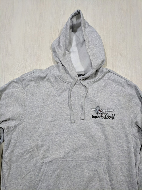 Light Gray SuperCub.Org Hoodie