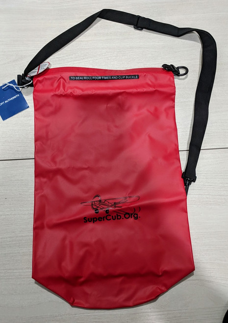 Red SuperCub.Org Dry Bag
