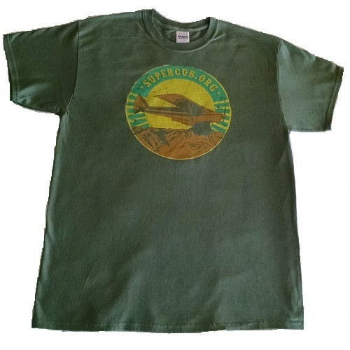 SuperCub.Org Green Mountain Shirt!