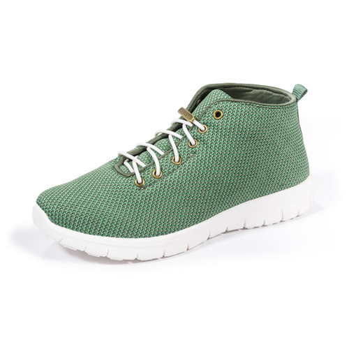 Kerrigan Olive Green Slip-on High Top Sneakers