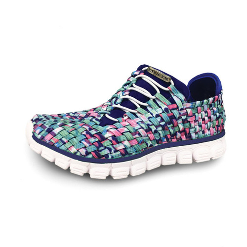 Kirby Floral Multi Woven Sneakers