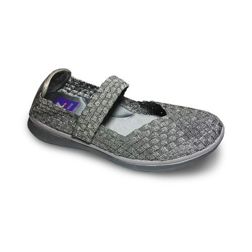 HOLLY Pewter Flats