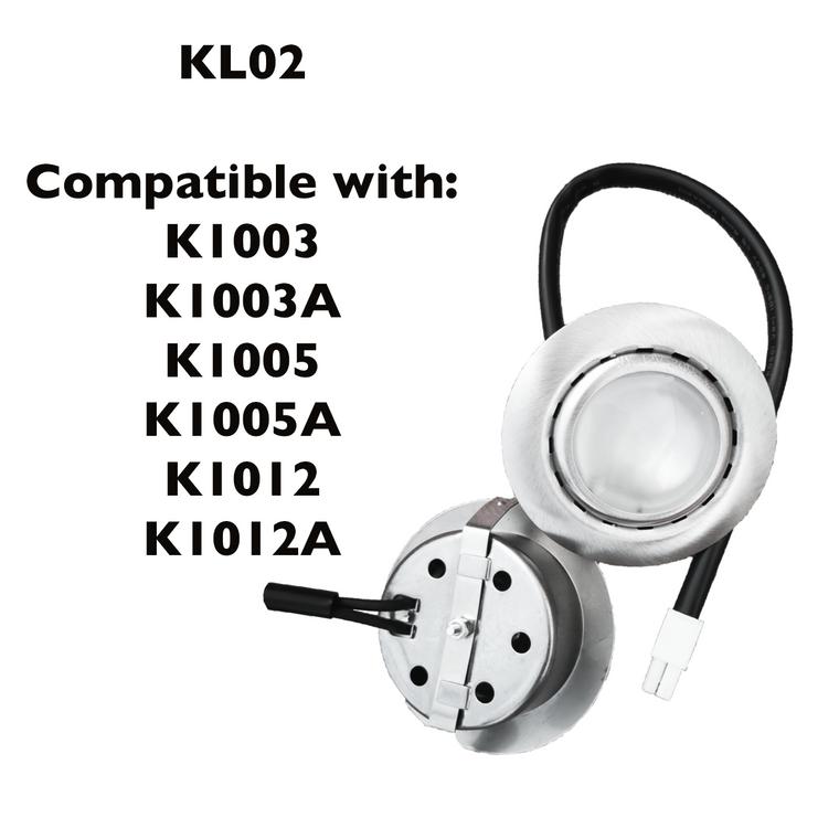 KL02 Halogen Lights Bulbs for K1003, K1003A, K1005, K1005A, K1012, K1012A