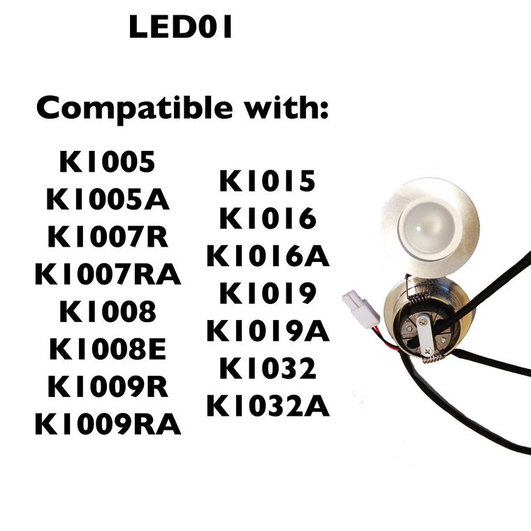 LED01 - LED Lights for Kitchen Range Hoods - KSTAR