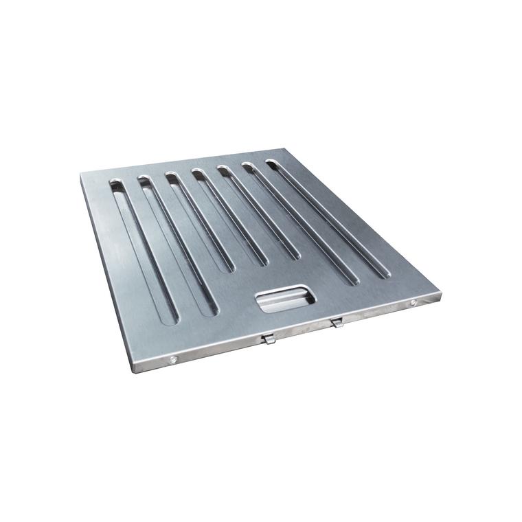 Set of Stainless Steel Baffle Filter for Kitchen Range Hoods - KSTAR