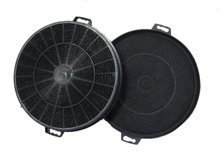 Set of Round Carbon/Charcoal Filter for Kitchen Range Hoods- KSTAR