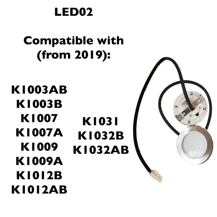 LED02 / LSD-H (LED Lights for Kitchen Range Hood) - KSTAR