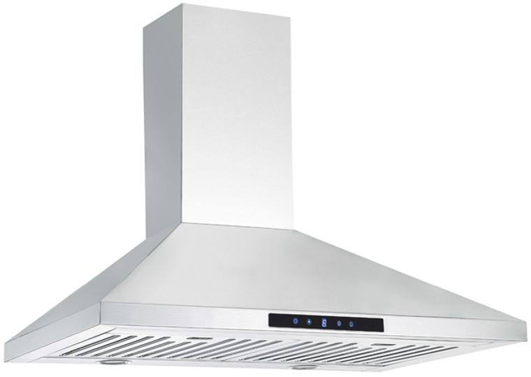 "K1012AB-36"" Wall Mounted Kitchen Range Hood (Baffle Filter) - KSTAR"