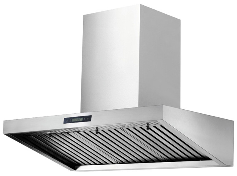"K1016A - 36"" Wall Mounted Kitchen Range Hood (Baffle Filter) - KSTAR"